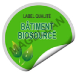 label batiment biosource