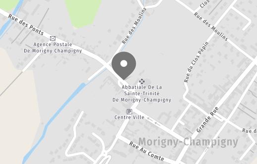 Map des alentours de MORIGNY-CHAMPIGNY