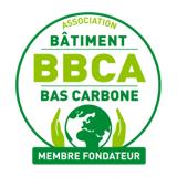 Logo du label batiment bas carbone (BBCA)